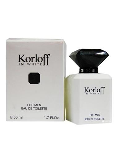 Korloff in White Man Edt Spray 50 Ml Kadın Parfüm Renksiz